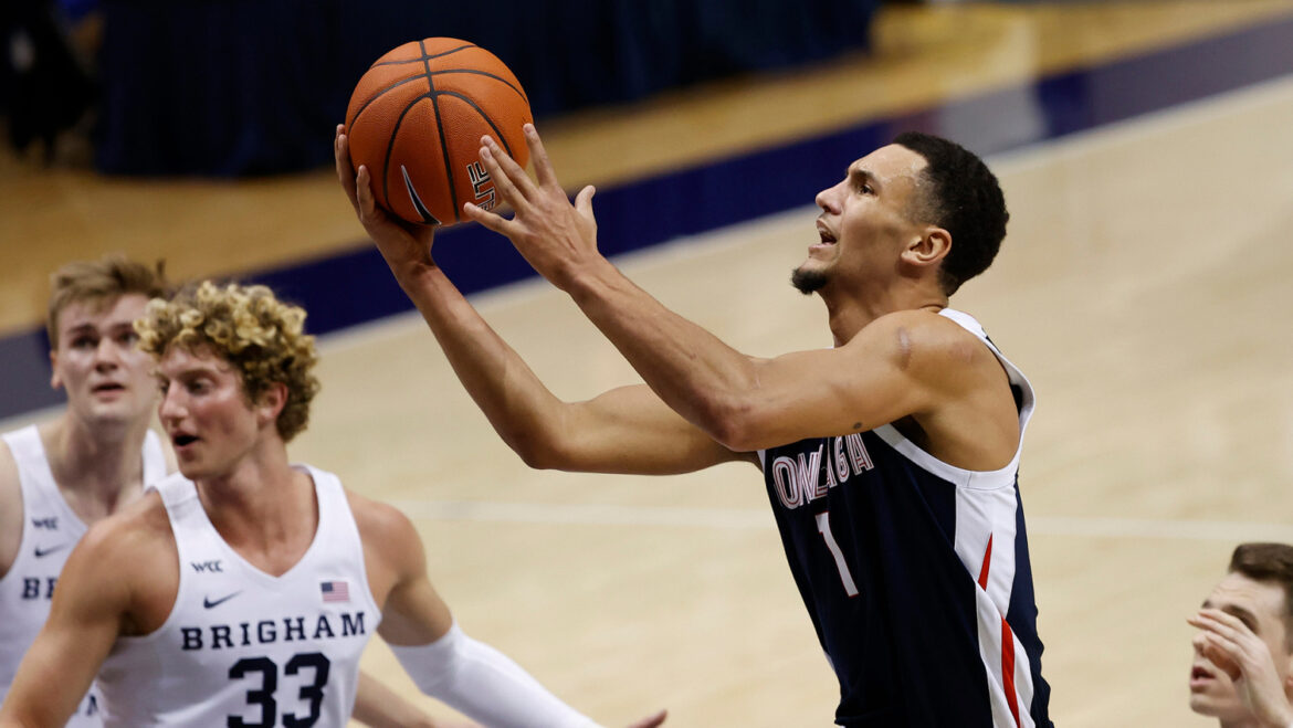 Timme leads unbeaten No. 1 Gonzaga over San Francisco 100-61